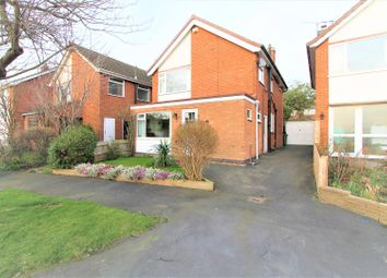 Thumbnail 3 bed detached house for sale in Kent Drive, Oadby, Leicester