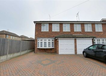 Thumbnail 3 bed semi-detached house for sale in Fairview Drive, Westcliff, Essex