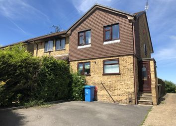 Thumbnail 3 bed semi-detached house for sale in Crusader Road, Bearwood, Bournemouth