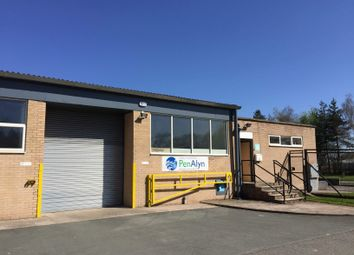 Thumbnail Light industrial to let in Unit 4 Vauxhall Business Centre, Ruabon, Wrexham