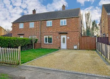 Thumbnail 2 bed semi-detached house for sale in Coldhams South, Huntingdon, Cambridgeshire.