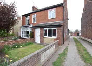 Thumbnail 2 bed semi-detached house for sale in High Street, Broughton, Brigg