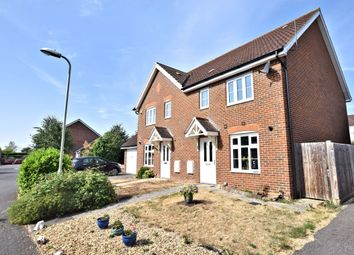 Thumbnail 3 bed semi-detached house for sale in Oatlands Chase, Shinfield, Reading