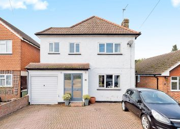Thumbnail 3 bed detached house for sale in Monks Avenue, West Molesey