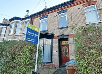 Thumbnail 4 bedroom terraced house for sale in Ryde Street, Hull