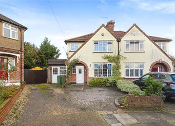 Thumbnail 4 bed semi-detached house for sale in Stratford Avenue, Hillingdon Village, Middlesex