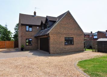 Thumbnail 4 bed detached house for sale in Fews Close, Needingworth, St. Ives