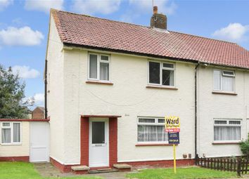 Thumbnail 3 bed semi-detached house for sale in Eastcourt Lane, Gillingham, Kent