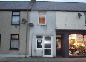 Thumbnail 1 bed flat to rent in 32B, Snowdon St, Penygroes