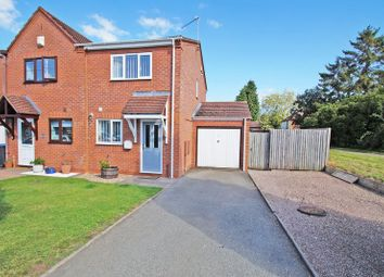 Thumbnail 2 bed semi-detached house for sale in Allwoods Close, Alcester