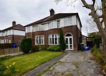 Thumbnail 4 bed semi-detached house to rent in Ferndene Road, Didsbury, Manchester
