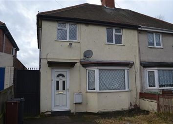 Thumbnail 3 bedroom semi-detached house to rent in Hawksford Crescent, Bushbury, Wolverhampton