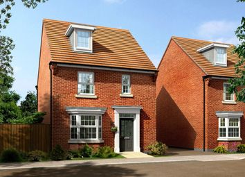 "Thumbnail 4 bed detached house for sale in ""Bayswater"" at Kenbrook Road, Hucknall, Nottingham"