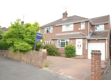 Thumbnail 4 bed semi-detached house to rent in Hartsbourne Road, Earley, Reading