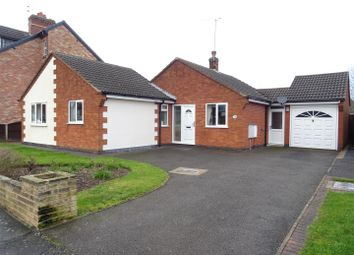 Thumbnail 3 bed detached bungalow for sale in Church Lane, Whitwick, Leicestershire
