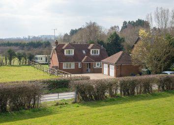 Thumbnail 3 bed detached house for sale in Lenham Heath Road, Lenham Heath, Maidstone