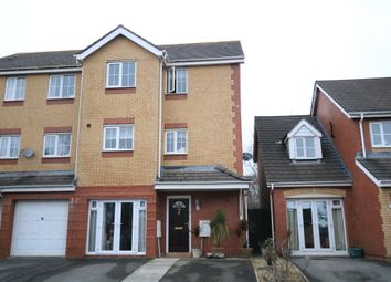Thumbnail 3 bedroom town house for sale in Llwyn David, Barry Waterfront, Barry