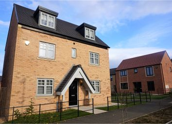 Thumbnail 4 bedroom detached house for sale in Viscount Close, Newcastle Upon Tyne