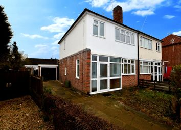 Thumbnail 3 bed semi-detached house to rent in Roehampton Drive, Wigston, Leicester