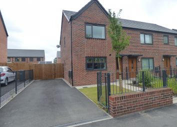 Thumbnail 3 bed semi-detached house to rent in Wenlock Way, Manchester
