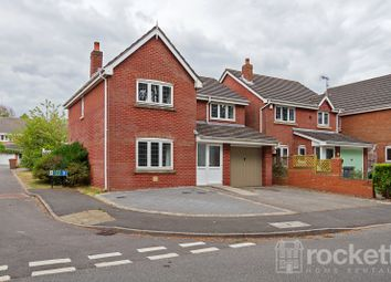 Thumbnail 4 bed detached house to rent in Cloughwood Way, Burslem, Stoke-On-Trent