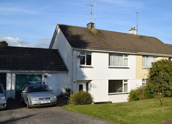 Thumbnail 3 bed link-detached house to rent in Bosvean Gardens, Truro
