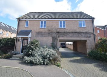 Thumbnail 2 bedroom maisonette to rent in Mary Clarke Close, Hadleigh, Ipswich