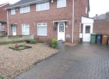Thumbnail 3 bed semi-detached house to rent in Trinity Road, Willenhall