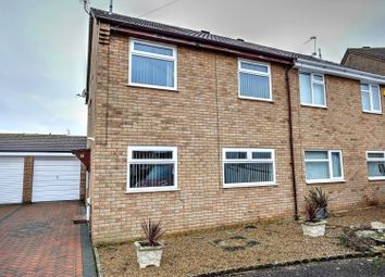 Thumbnail 3 bed semi-detached house for sale in Randall Close, Great Yarmouth