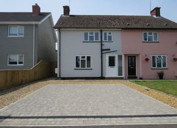 Thumbnail 3 bed semi-detached house for sale in Hall Farm Road, Melton, Woodbridge