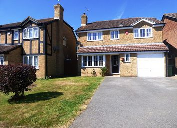 Thumbnail 4 bed detached house to rent in Templecombe Road, Fair Oak, Eastleigh