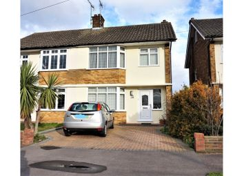 Thumbnail 3 bed semi-detached house for sale in Lampits Hill, Stanford-Le-Hope