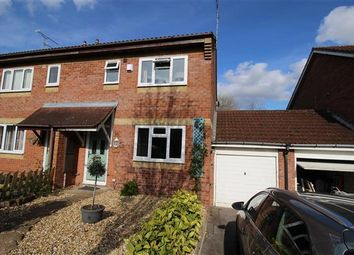 Thumbnail 3 bed semi-detached house for sale in Nuffield Close, Shaw, Swindon