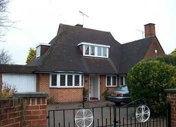 Thumbnail 3 bed detached bungalow for sale in Fairfield Crescent, Glenfield, Leicester