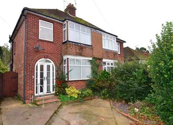 Thumbnail 3 bed semi-detached house to rent in Hythe Road, Willesborough, Ashford