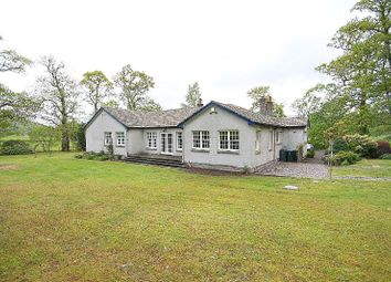 Thumbnail 5 bed detached bungalow for sale in Strowan, Near Crieff