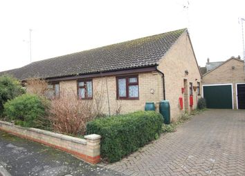 Thumbnail 3 bed semi-detached bungalow for sale in Ferry Way, Littleport, Ely
