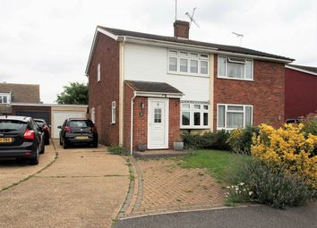 Thumbnail 2 bed semi-detached house to rent in Raven Drive, Benfleet, Essex