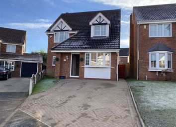 Thumbnail 3 bed detached house for sale in Penrhos Court, Connahs Quay, Flintshire