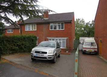 Thumbnail 3 bed semi-detached house for sale in Danum Close, Hailsham