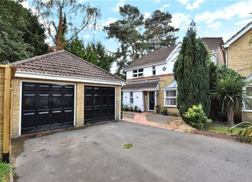Thumbnail 4 bed detached house for sale in Heathside Park, Camberley, Surrey