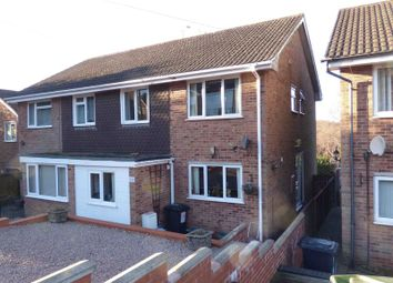 Thumbnail 3 bed semi-detached house for sale in Coombe Drive, Cinderford