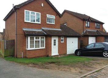 Thumbnail 3 bed detached house to rent in Danbury Road, Leicester