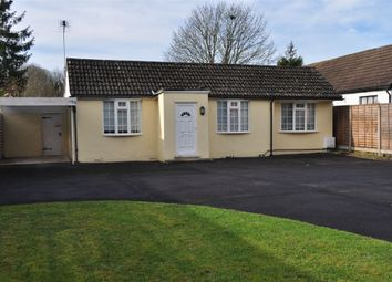 Thumbnail 2 bed detached bungalow to rent in Chertsey Lane, Staines-Upon-Thames, Surrey