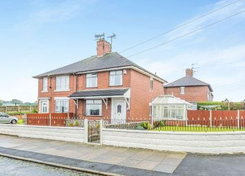 Thumbnail 2 bedroom semi-detached house to rent in Crestfield Road, Longton, Stoke-On-Trent