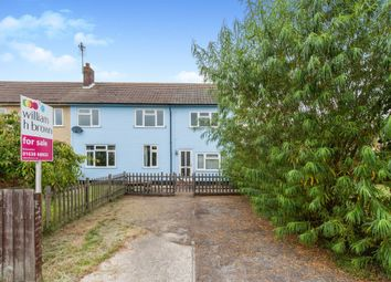 Thumbnail 3 bed semi-detached house for sale in Ash Walk, Stradishall, Newmarket