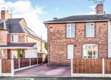 Thumbnail 3 bed semi-detached house for sale in Waltham Avenue, Braunstone, Leicester