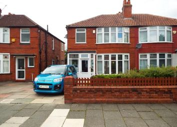 Thumbnail 3 bed semi-detached house for sale in Hatherley Road, Manchester, Greater Manager, Uk