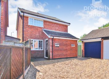 Thumbnail 4 bed detached house for sale in Reydon Close, Norwich