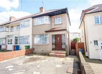 Thumbnail 3 bed end terrace house for sale in Millais Gardens, Edgware, Middlesex